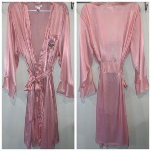 PINK K Soft Pink Robe